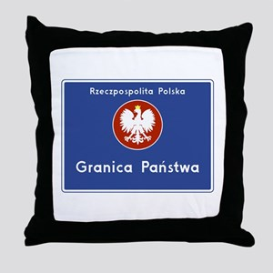 Republic of Poland, Poland Throw Pillow